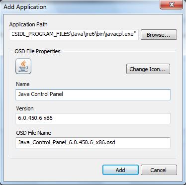 OSD settings